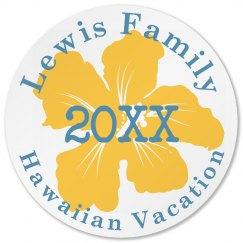 Family Vacation Coaster