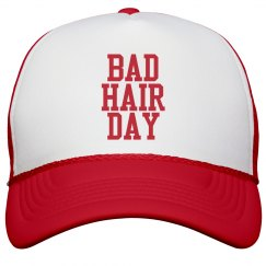 BAD HAIR DAY RED