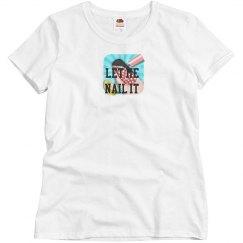 Blue Nail It T