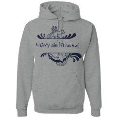 Navy Girlfriend Hoodie
