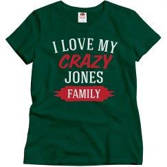 Crazy Jones family
