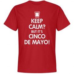 Keep Calm Cinco de Mayo