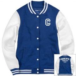 Charlotte sports fan jacket