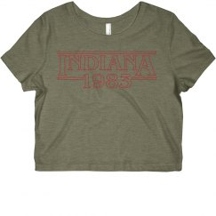 Indiana 1983 Crop Top