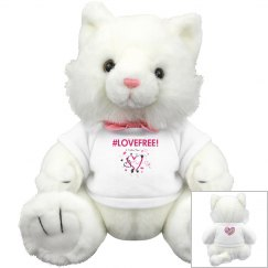 LoveFree Plush Stuffed Kitty