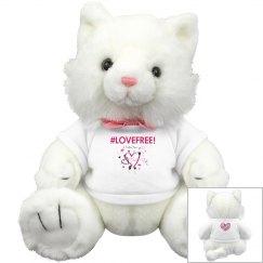 LoveFree Plush Stuffed Kitty