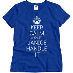 Let Janice handle it