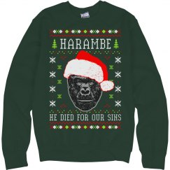 Harambe Died For Our Sins Ugly