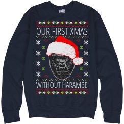 Our First Xmas Without Harambe Ugly