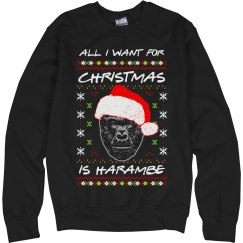 All I Want For Christmas Is Harambe