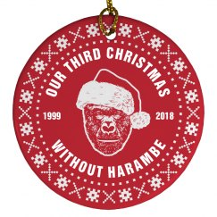 First Christmas Without Harambe