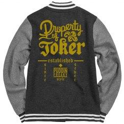 Property of Joker - Gold Text