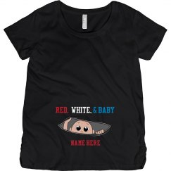 Red, White, & Baby Maternity
