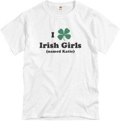 St Patricks I Heart Irish Girls