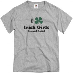 St Patricks I Heart Irish Girls