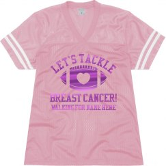 Metallic Tackle Breast Cancer