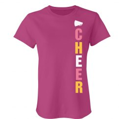 Cheer Side Print Tee