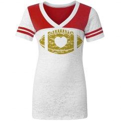 Heart Gold Football