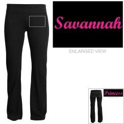 Savannah, yoga pants