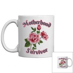 Motherhood Survivor Coffee Mug