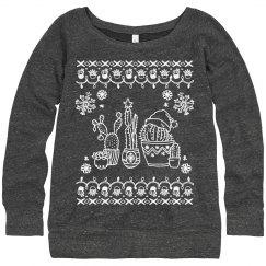 Cacti Christmas Sweater