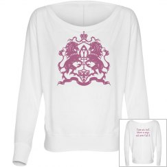 Ladies Believe In Magic Unicorn Long Sleeve