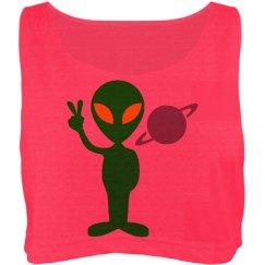 Peace Lovin' Alien TankTop