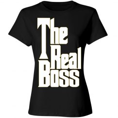 The Boss 2/2 matching couple Tee Valentine's Day