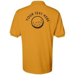 Golf Shirt Template