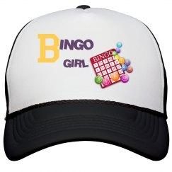 Bingo Girl Peak Cap