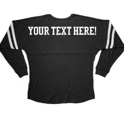 Custom Text Billboard Jersey