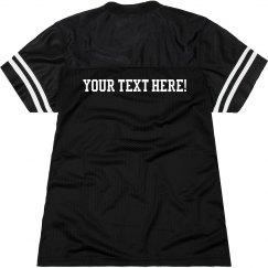 Custom Text Billboard Jersey