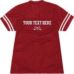 Hockey Billboard Tee Custom Text