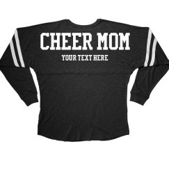 Custom Text Cheer Mom Billboard