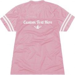 Custom Text Cheerleader Gear