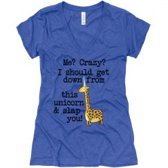 Crazy Unicorn Giraffe