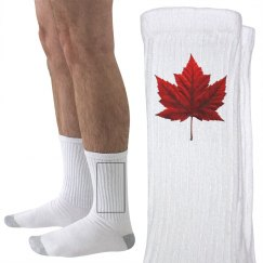Canada Socks Customizable