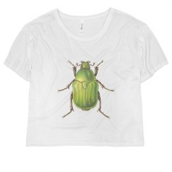 Vintage Green Beetle