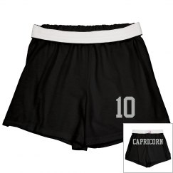 Capricorn Sporty Zodiac Shorts