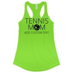 Custom Tennis Mom Neon Gear