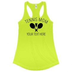 Cute & Custom Tennis Mom Apparel
