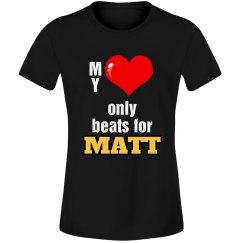 Heart beats for Matt
