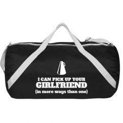 Fun Male Cheerleader Bag