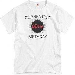 Celebrating 60th birthday