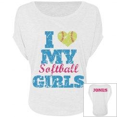Softball Mom Heart
