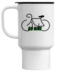 Go Bike -  15 oz Travel Mug