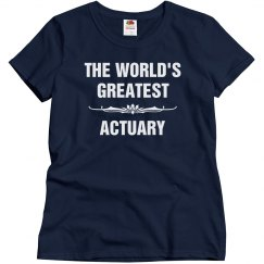 World's greatest actuary