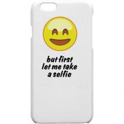 let me take a selfie phone case