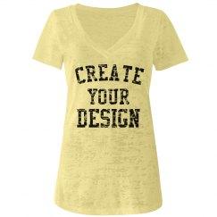 Create Your Custom V-Neck!