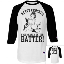Rowdy Baseball Mom Heckler Custom Sports Mom Jersey